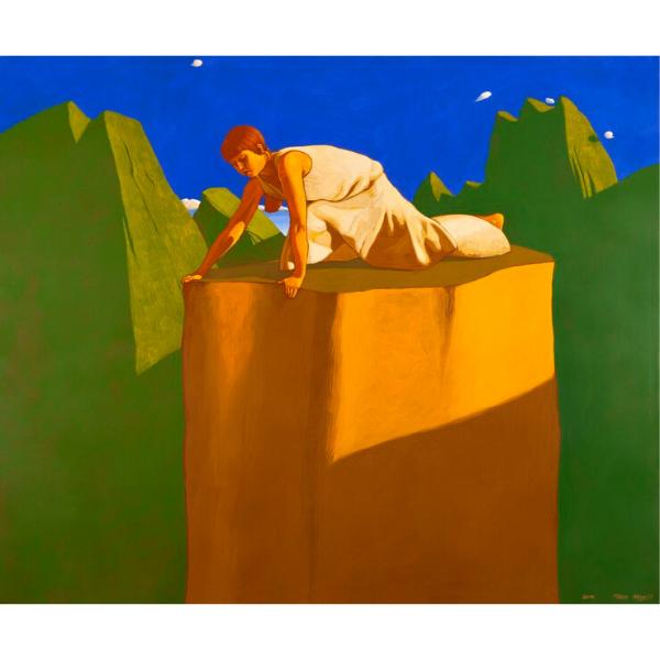 Belvedere (XVI), 2010, cm. 100 x 120, tempera su tela